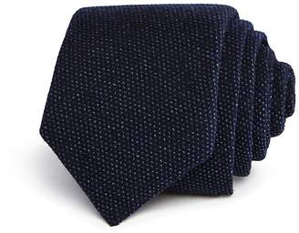 Theory Roadster Textured Jersey Skinny Tie