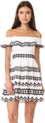alice + olivia Rozzi Off Shoulder Dress $495 thestylecure.com