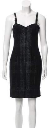 Yigal Azrouel Wool Plaid Dress