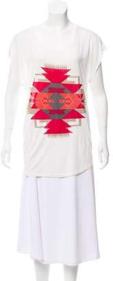 Torn By Ronny Kobo Short Sleeve Graphic Top