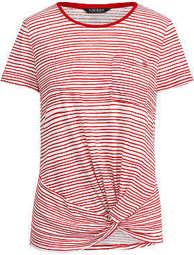 Ralph Lauren Twist-Front T-Shirt