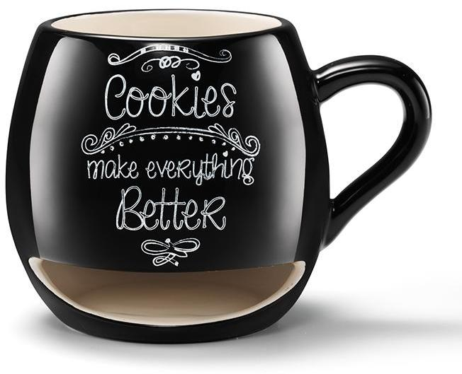Avon Living Milk and Cookies Lover Mug