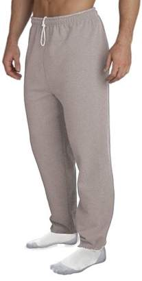 Gildan Big Men's Elastic Bottom Pocketed Sweatpant, 2XL