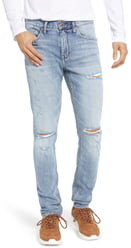 Silver Jeans Co. Kenaston Ripped Slim Fit Jeans