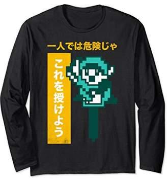 Nintendo Zelda 8-Bit Kanji Take This Long Sleeve Tee