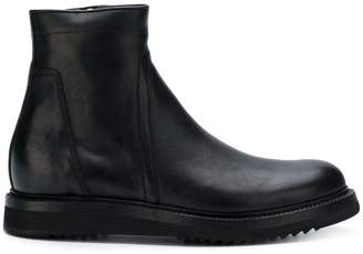 Rick Owens side-zip ankle boots