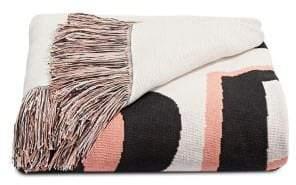 Martha Stewart Graphic Cotton Throw