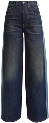 MM6 MAISON MARGIELA Side stripe wide-leg jeans