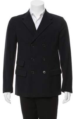 Marni Double Breasted Notch Lapel Jacket