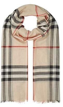 Burberry Woman's Men's Giant Icon Cashmere Scarf