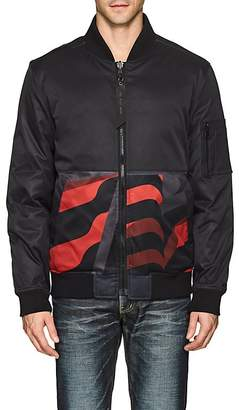 The Very Warm THE VERY WARM MEN'S REVERSIBLE INSULATED BOMBER JACKET