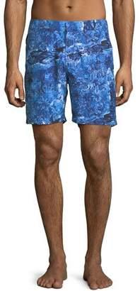 Derek Rose Maui Modern-Fit Swim Trunks