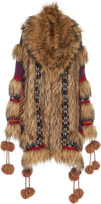 Etro Maglia Tiered Coat