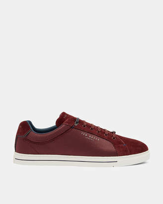 Ted Baker EERIL Suede detail trainers