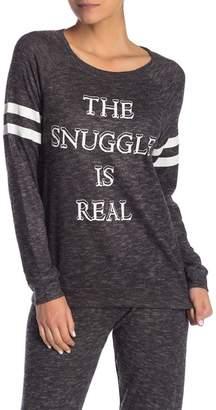 PJ Salvage Printed Knit Sweater