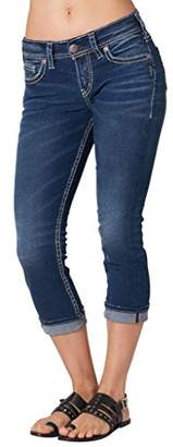 Silver Jeans Women's Suki Mid Capri - Jeans