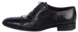 Bruno Magli Cap-Toe Leather Oxfords