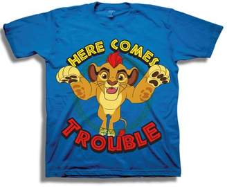 """Disney The Lion Guard Toddler Boy """"Here Comes Trouble"""" Short Sleeve T-Shirt"""