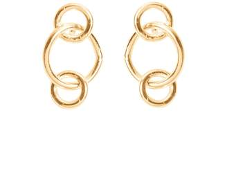 Lily Flo Jewellery Solid Gold Circles Earrings - Togetherness