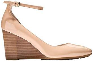 Cole Haan Women's Sadie Ankle Strap Wedge 85MM Platform