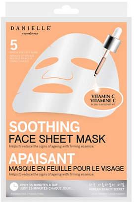 UPPER CANADA SOAP Five-Pack Brightening Sheet Mask