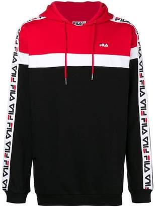 Fila colour block hoodie