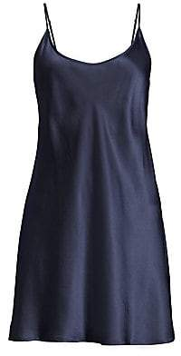 La Perla Women's Short Sleeveless Silk Chemise