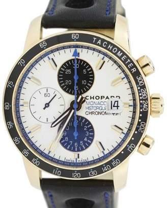 Breitling Chopard 18K Gold Grand Prix De Monaco Historique 42.5mm Watch