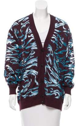 Alexander Wang Patterned Wool Cardigan