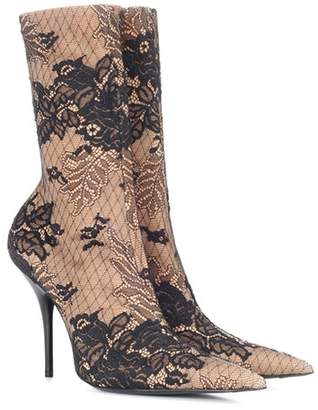 Knife ankle boots