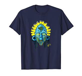 Afro-futurism African Mask Graphic T-shirt