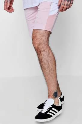 boohoo MAN Signature Slim Mid Length Shorts
