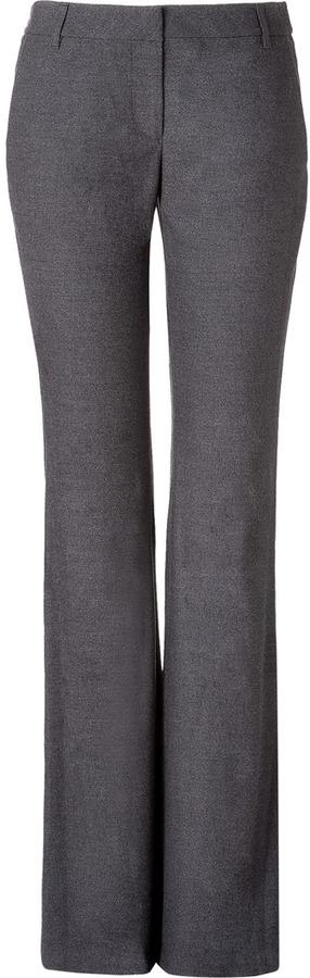 L'Agence LAgence Grey Straight Leg Pants