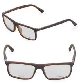 Gucci Square 54MM Optical Frames