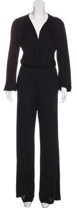 Nightcap Clothing Long Sleeve Wide-Leg Jumpsuit