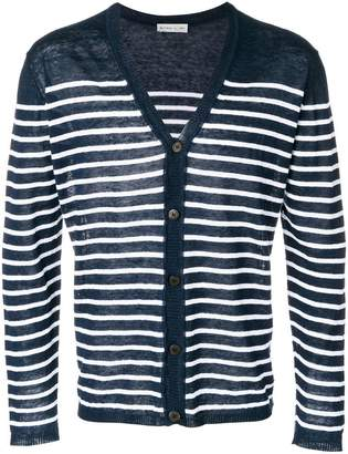 Etro striped V-neck cardigan