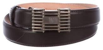 Tiffany & Co. Leather Waist Belt