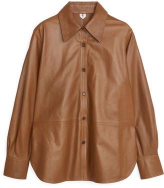 Arket Leather Shirt