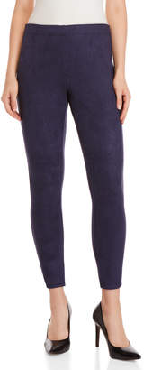 Essentials By Sioni Faux Suede Ankle Skinny Pants