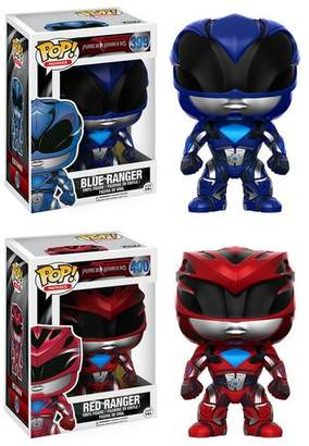 Power Rangers Pop! Vinyl Red and Blue Bobble Head Gift Set