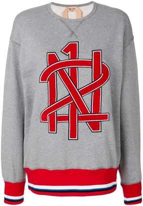 No.21 branded sweatshirt