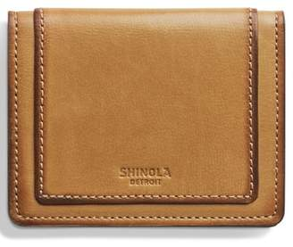 Shinola Outlaw Folding Card Case