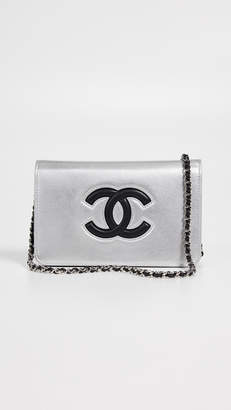 Chanel What Goes Around Comes Around Timeless CC Wallet On A Chain