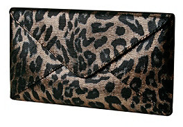 Jessica McClintock Leopard Evening Bag