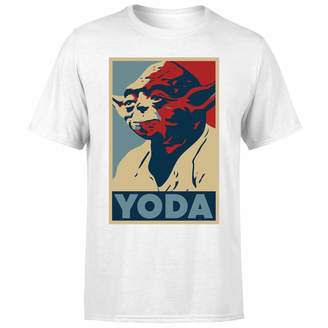 Star Wars Yoda Poster Men's T-Shirt