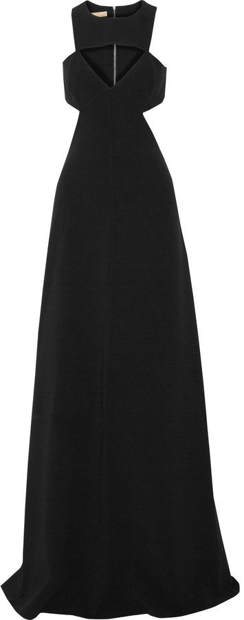 MICHAEL Michael Kors Michael Kors Collection Cutout stretch-wool gown