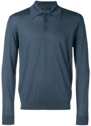 Prada long sleeve polo shirt