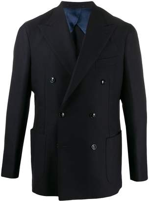 Barba double-breasted blazer