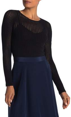 Wolford Janis Open Knit Pullover