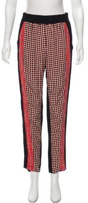 Ohne Titel High-Rise Printed Pants